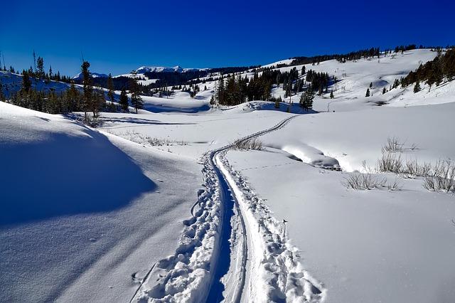 lyžařská stopa