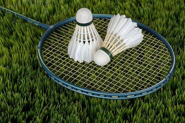 badmintonové potřeby