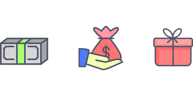 peníze jako dárek