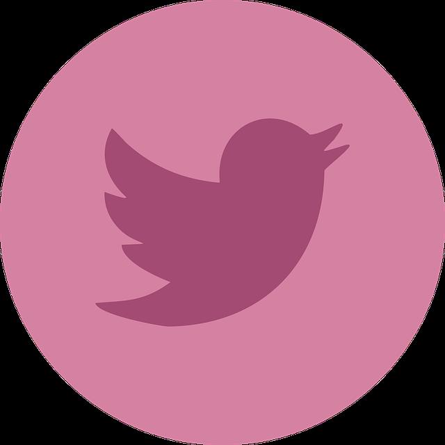 růžový Twitter