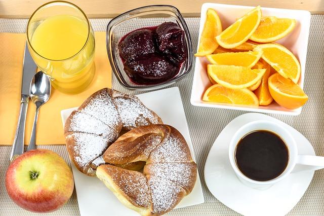snídaně hotelu