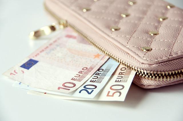 zdobná dámská peněženka