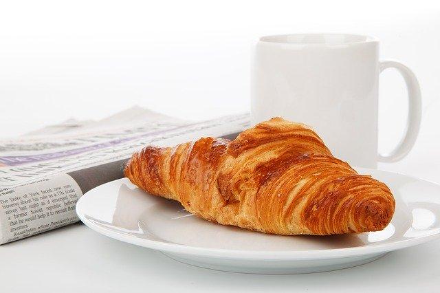 svačinový croissant