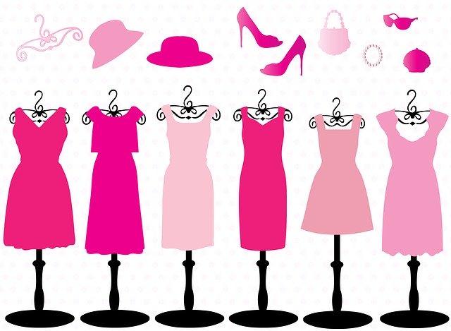 šaty na pannách